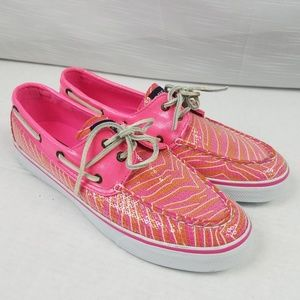 ❣Sale❣Sperry Top Sider Bahama Sequin Boat Shoe